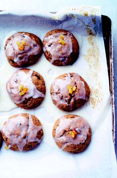 Ottolenghi does spice cookies like no other! Leave these out for Santa and you will blow his mind.
