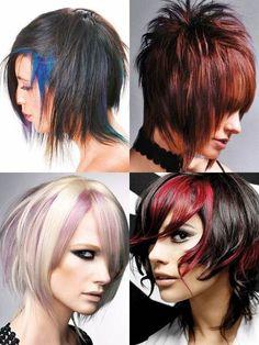 2011 Punk Hairstyles brown hair