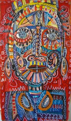 Swiss Artist Painter | Painted by Cathy Butuza #outsiderart #artbrut #art…