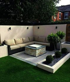 Awesome Modern Garden Architecture Design Awesome Modern Garden Architecture Design Ideas Learn all the tricks about planting succulents 80 Luxurious Terrace Design Ideas You Should Try Backyard Patio Designs, Modern Backyard, Small Backyard Landscaping, Modern Landscaping, Backyard Ideas, Cozy Backyard, Landscaping Ideas, Outdoor Restaurant Patio, Garden Architecture