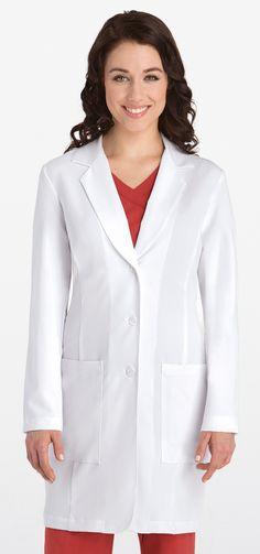 """Signature Series Princess Seam 35"""" Lab Coat"""