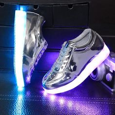 0fbd3ca9f4 US $29.5 |Aliexpress.com : Buy KRIATIV 2017 new luminous sneakers 5 color children  kids light up led shoes with lighted shoes for boy&girls glowing sneakers  ...