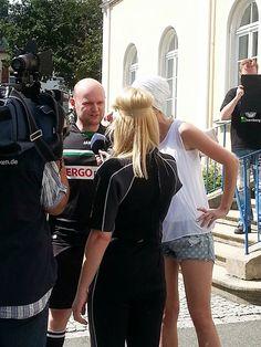 Ein letztes Interview vor der Ice Bucket Challenge