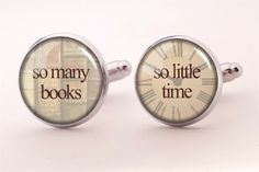 With quote Cuff links, 0223CS from EgginEgg by DaWanda.com