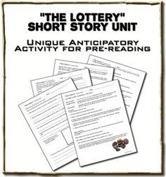 Lottery response short story lottery written shirley jacks