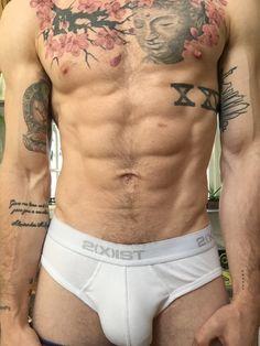Sexy guys in tats sucking fucking