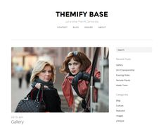 Gorgeous minimal theme by Themify called Base. VERY nice Blog Websites, Extra Skin, Blog Images, Free Personals, Blog Design, Best Wordpress Themes, How To Start A Blog, Minimal, Fonts