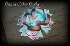 Beautiful Boutique Hairbow  Perfect for spring by tootoocute4you, $6.50