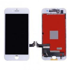 For iPhone 7 inch) LCD with Touch Screen Digitizer (Deluxe Quality Aftermarket, Made By FVG) - White. Cell phone repair parts wholesale supplier for cellphone repair shop including parts for iPhone, LG, Samsung and more. T Mobile Phones, Mobile Phone Repair, Iphone 8 Plus, Iphone 7, Apple Iphone, Apple Repair, Iphone Parts, Boutique Accessoires, Iphone 6 Screen