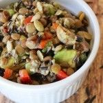 Vegan Wild Rice & Lentil Salad