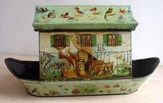 Vintage Tin Noah's Ark