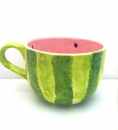 Melon Mug on Etsy