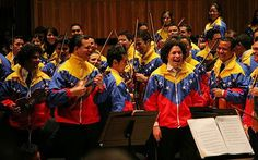Simon Bolivar Youth Orchestra of Venezuela.... The passion and enthusiasm that they play with is so amazing !