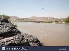 The 6th Cataract of the River Nile, Sudan http://www.alamy.com/stock-photo-the-6th-cataract-of-the-river-nile-sudan-74236318.html
