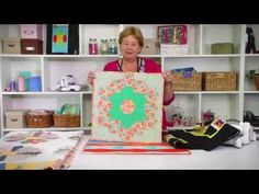 From the Sizzix Quilting Workshop: the Missouri Star Quilt Collection #2 - YouTube