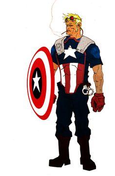 Captain America redesign - Anjin Anhut