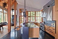 Kitchen - Lake Tahoe Modern Home