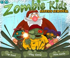 Los zombies amenazan de nuevo y esta vez quieren arruinar la navidad de la cual el mayor responsable es Santa, ayudalo a exterminar a todos los zombies para que no se salgan con la suya, obten las mejores armas para combatir y no dejes que te coman los zombies.