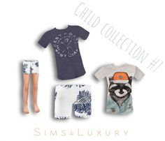 Child collection #7 at Sims4 Luxury via Sims 4 Updates