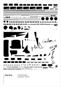 Visual Language / Winter Semester 2009|10 / University of Applied Siences Potsdam  This is a deconstruction of a motherboard. After disassembling it I recomposed the graphical elements on a poster.