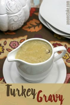 how to make gravy out of turkey drippings