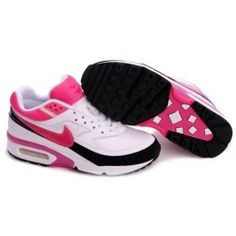 detailed pictures a7e17 049f6 Nike Air Classic BW - Mujer - blanco negro hot punch 813hJ