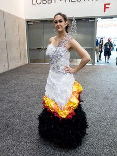 katniss dress - Google Search  sc 1 st  Pinterest & Katniss Wedding Dress Cosplay | Movie Replica Clothing | Pinterest ...