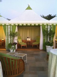 Private Cabana, perfect for a private spa treatment.