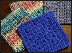 Spritz Cookie Crochet Dishcloth - YarnWars.com