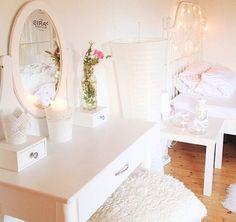 Cream Vanity #girlydecor