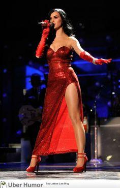 Katy Perry as Jessica Rabbit - http://geekstumbles.com/funny/uber-humor/katy-perry-as-jessica-rabbit/