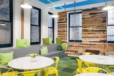 FLOR / In the Deep-Kiwi, House Pet-Frog, Down To Earth-Grass, and Made You Look-Forest / One Medical Group / New York, NY / Modern, clean approach to an office design.