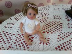 Ooak baby doll by Tina Kewy <3 I love her a lot <3