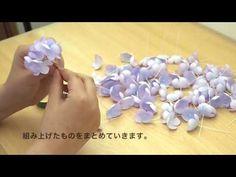 Handmade flowers how to make - YouTube