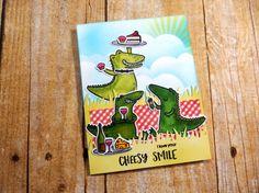 0724dddc400f Heffy Doodle Happy Snappy Crocs stamps and dies Crocs