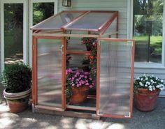 Patio Gardenhouse - Hobby Greenhouse Kits