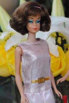 "rare brownette side part by bellasdolls, via Flickr in ""Dressed Up"""