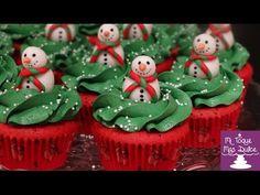 decoracion de cupcakes - YouTube