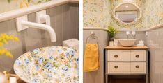 la reforma y decoración de un piso de estilo clásico contemporáneo Sink, Home Decor, Subway Tiles, Natural Wood Furniture, Contemporary Style, Flooring, Interiors, Sink Tops, Vessel Sink