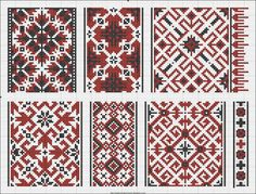 Free Easy Cross, Pattern Maker, PCStitch Charts + Free Historic Old Pattern Books Easy Cross, Simple Cross Stitch, Cross Stitch Borders, Cross Stitch Patterns, Cross Stitch Embroidery, Embroidery Patterns, Hand Embroidery, Cross Stitch Freebies, Palestinian Embroidery