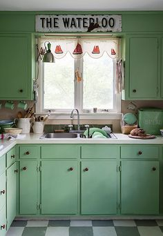 Credit: Matthew Williams This 1830s four-bedroom house in Connecticut is relatively untouched by modern living. In the kitchen, Farrow & Bal...