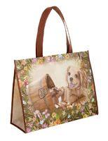 f0365ac3b79ff Torba na zakupy pies i wiewiórka | Ekologiczne torby na zakupy ...