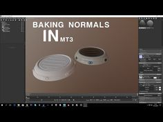 Baking normals in Marmoset Toolbag 3- Basic Tutorial - YouTube