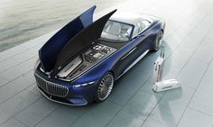 The New Mercedes-Maybach Concept Is a 20-Foot-Long Convertible - Bloomberg