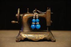 #kolczyki #earrings #jewellery #niebieskie #blueearrings