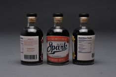 Spark Cold Brew Takes on a Vintage and Handcrafted Look #packaging trendhunter.com