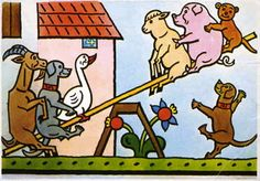JOSEF LADA (1887 – 1957) Animals Zvířátka
