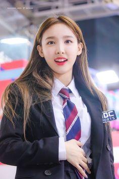 Image may contain: 1 person Kpop Girl Groups, Korean Girl Groups, Kpop Girls, Extended Play, K Pop Idol, Japanese School Uniform, Nayeon Twice, Twice Kpop, Im Nayeon