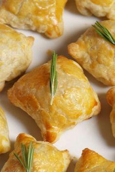 Get your fancy on with these crowd-pleasing beef Wellington bites. Get your fancy on with these crowd-pleasing beef Wellington bites.