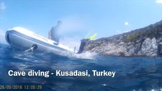 I adored scuba diving in this cave dive in Kusadasi, Turkey. The depth of the dive was about I went offshore on a speedboat with my divemaster to t. Cave Diving, Scuba Diving, Kusadasi, Speed Boats, Adventure Travel, Turkey, Diving, Turkey Country, Adventure Tours